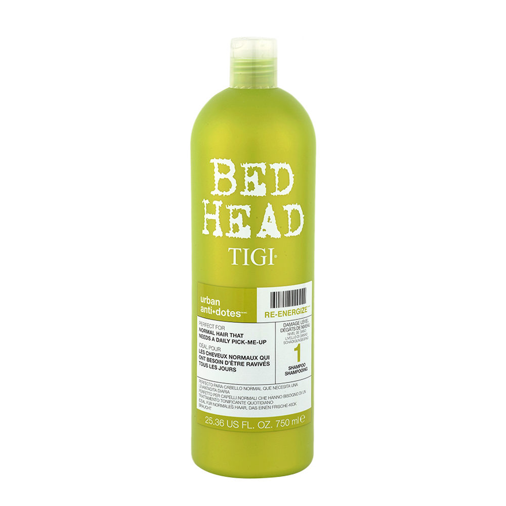 Tigi Urban Antidotes Re-Energize Shampoo 750ml - level 1