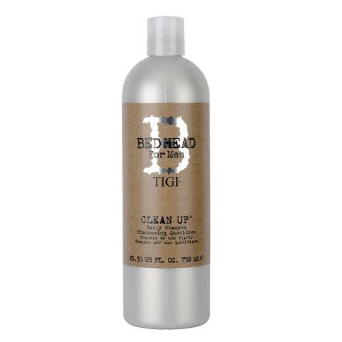 Tigi Bed Head Men Clean up Daily Shampoo 750ml