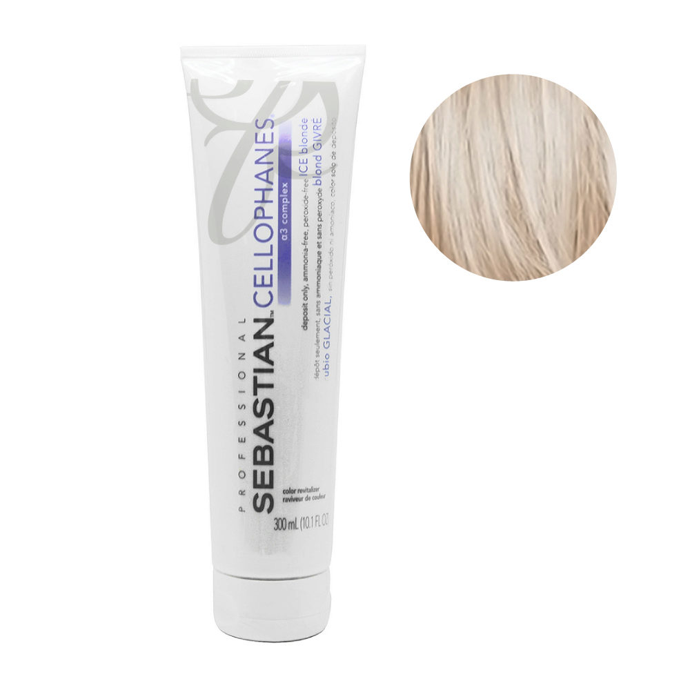 Sebastian Cellophanes Ice blond Reflective Mask 300ml