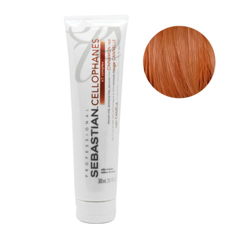 Sebastian Cellophanes Cinnamon red Reflective Mask 300ml