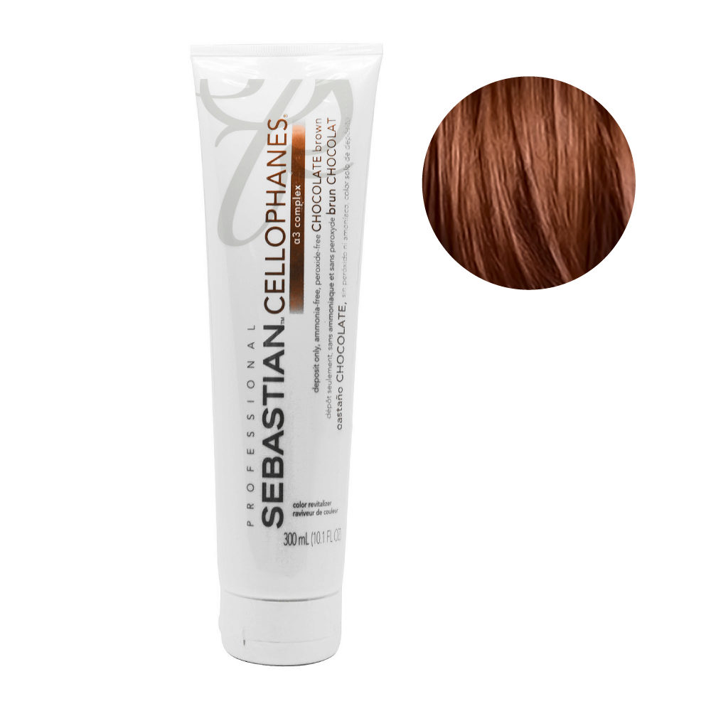 Sebastian Cellophanes Chocolate Brown Reflecting Mask 300ml