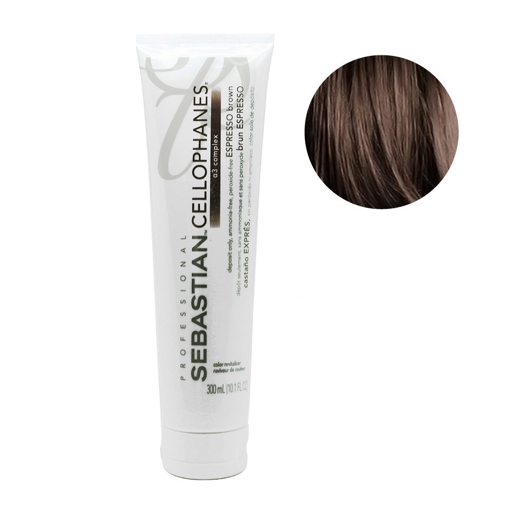 Sebastian Cellophanes Espresso Brown Reflecting Mask 300ml