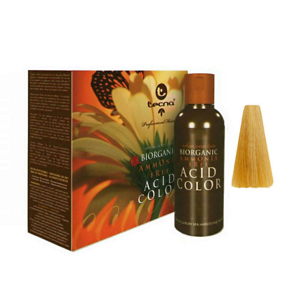 9.33 Deep very light golden blonde Tecna NCC Biorganic acid color 3x130ml