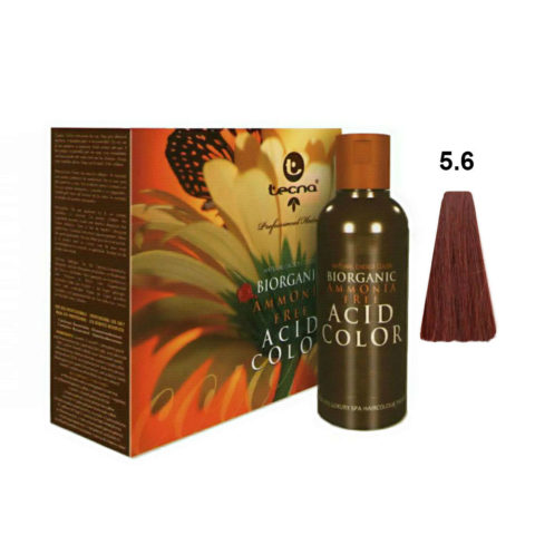 5.6 Light red brown Tecna NCC Biorganic acid color 3x130ml
