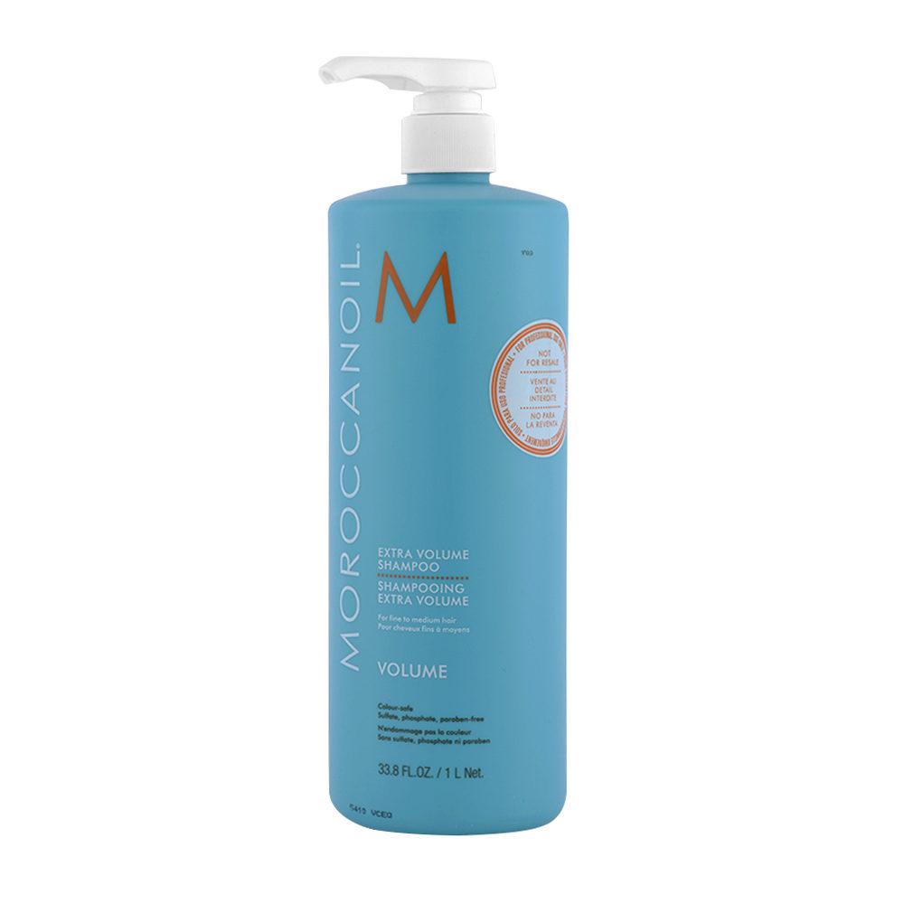 Moroccanoil Extra Volumizing Shampoo For Fine hair 1000ml