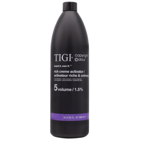 Tigi Attivatore 5 Volumi 1000ml