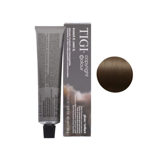 5/38 Light Golden Ash Brown Tigi Gloss 60ml