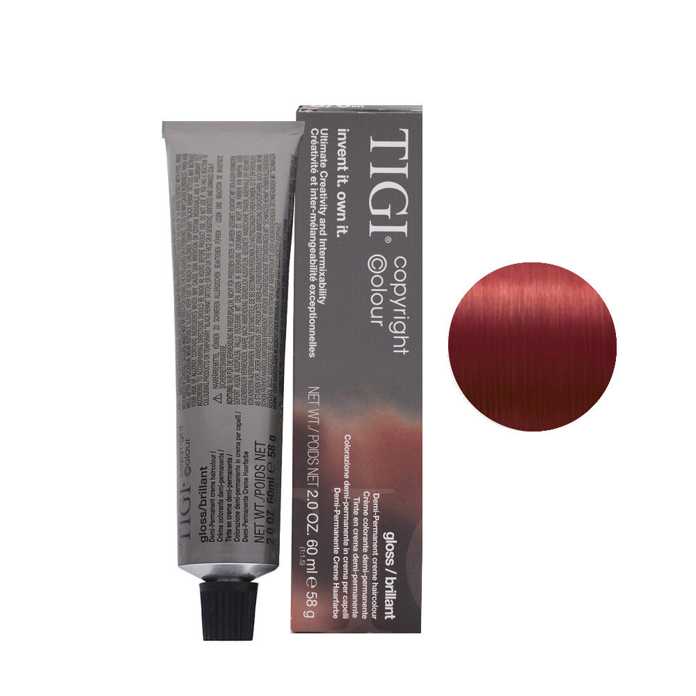 6/6 Dark Red Blonde Tigi Gloss 60ml