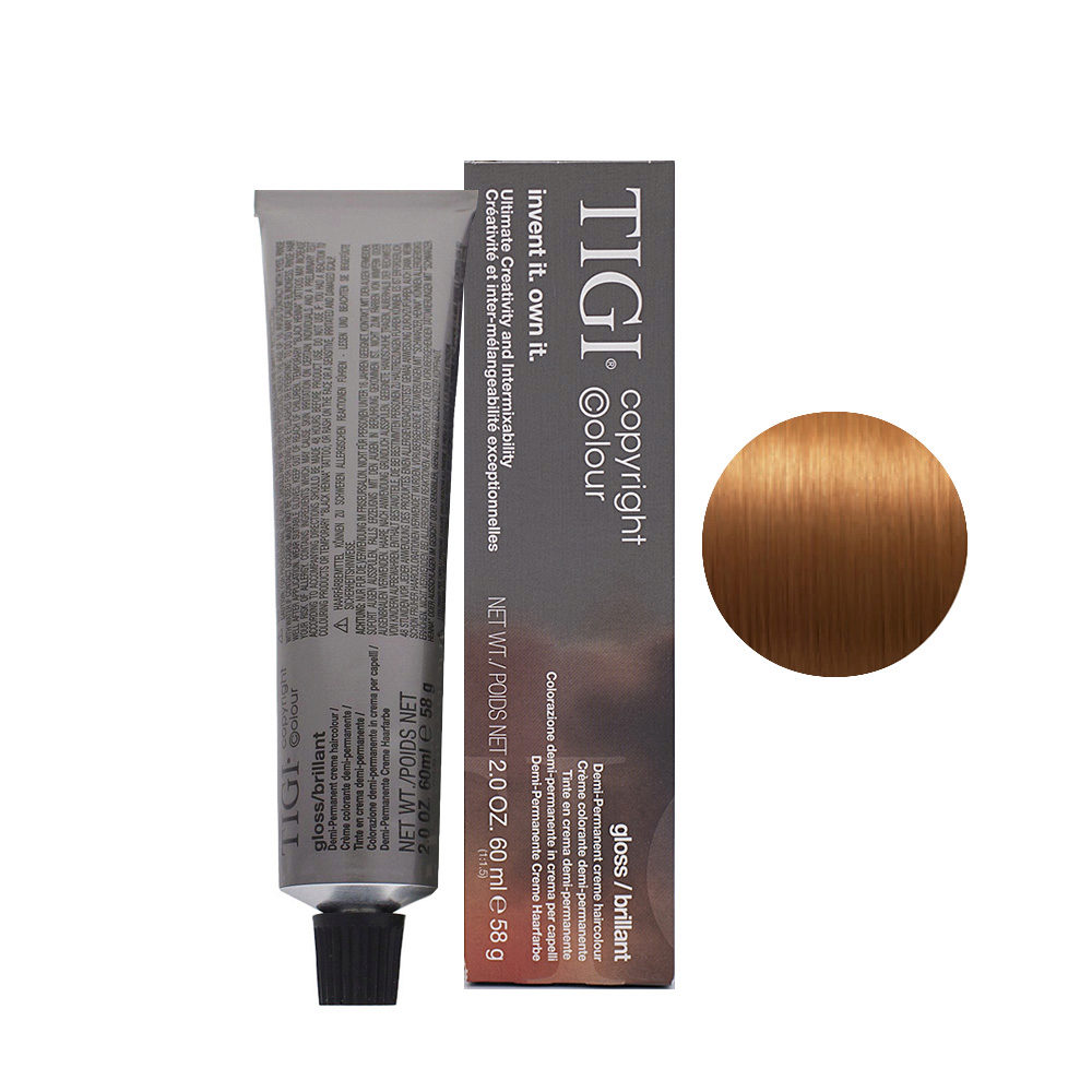 7/4 Copper blonde Tigi Gloss 60ml