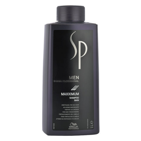 Wella SP Men Maxximum Shampoo 1000ml - anti hairloss