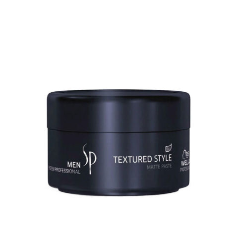 Wella System Professional Men Textured Style 75ml - matte paste