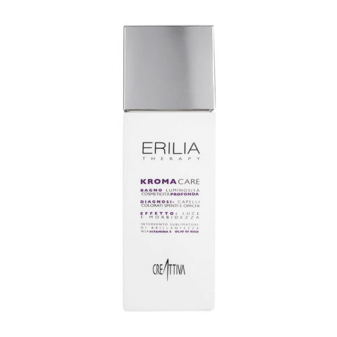 Erilia Kroma Care Bagno Luminosità Cosmeticità Profonda 250ml - lightening shampoo for coloured hair