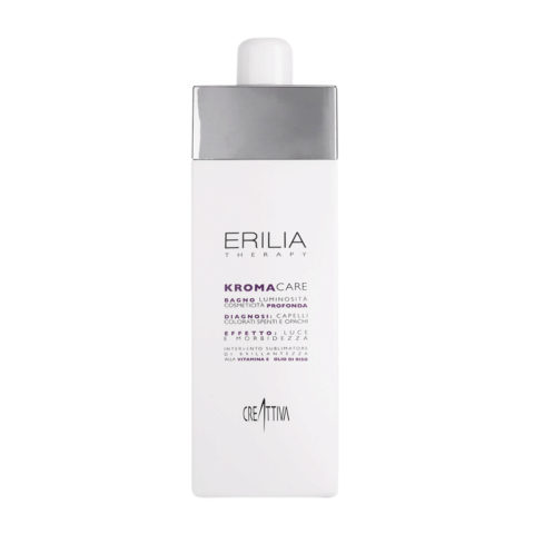 Erilia Kroma Care Bagno Luminosità Cosmeticità Profonda 750ml - lightening shampoo for coloured hair