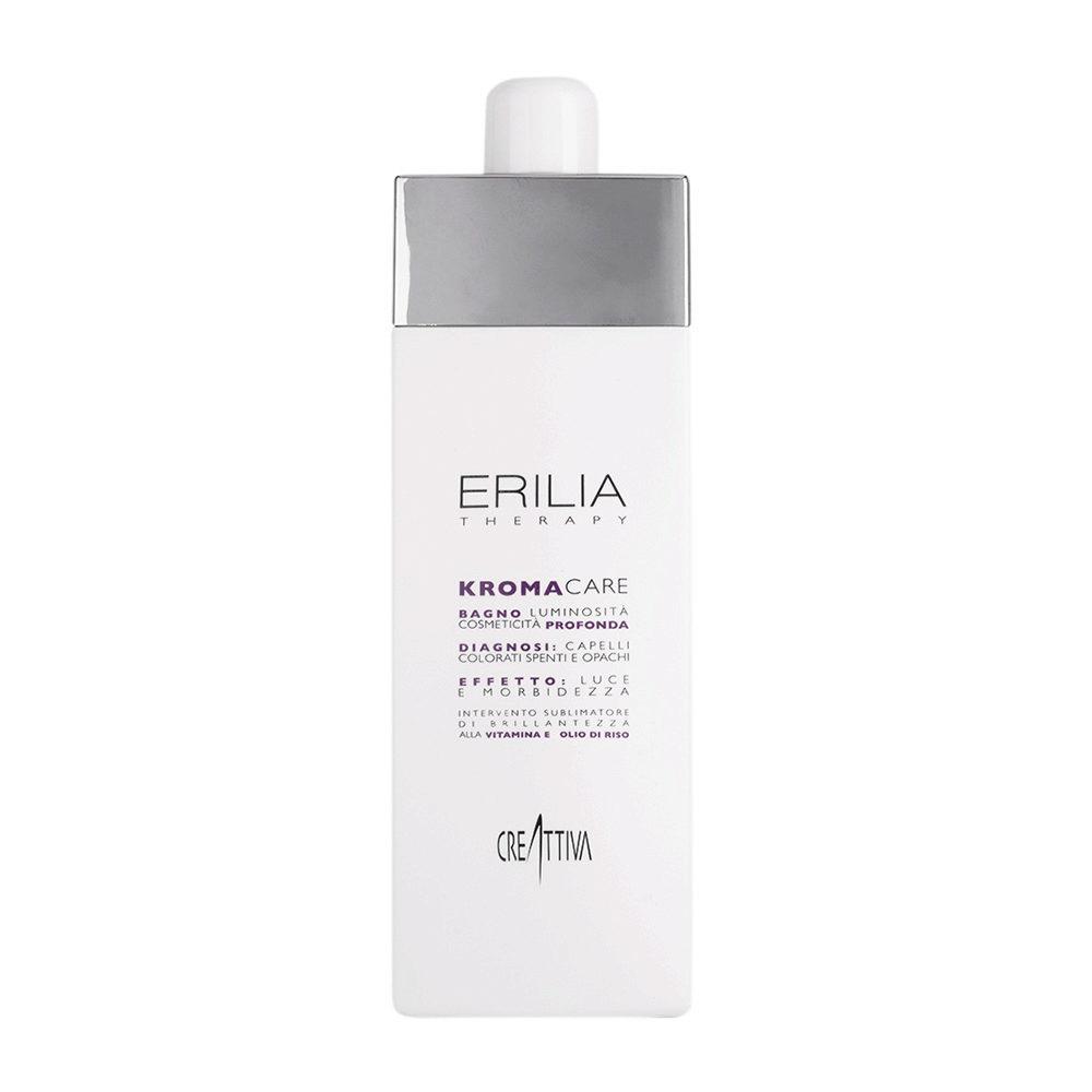 Erilia Kroma Care Bagno Luminosità Cosmeticità Profonda 750ml - lightening shampoo for coloured hair