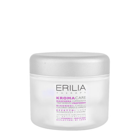 Erilia Kroma Care Maschera Luminosità Trattamento Profondo 200ml - lightening Mask for coloured hair