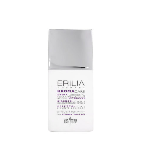 Erilia Kroma Care Crema Luminosità senza risciacquo azione levigante 150ml - lightening leave in cream for coloured hair