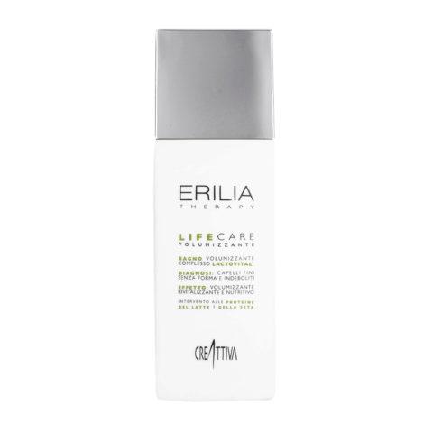 Erilia Life care Bagno Volumizzante Lactovital 250ml - volumizing shampoo lactovital Complex