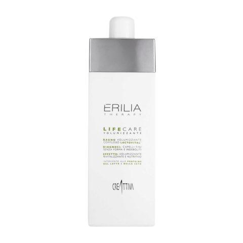 Erilia Life care Bagno Volumizzante Lactovital 750ml - volumizing shampoo lactovital complex