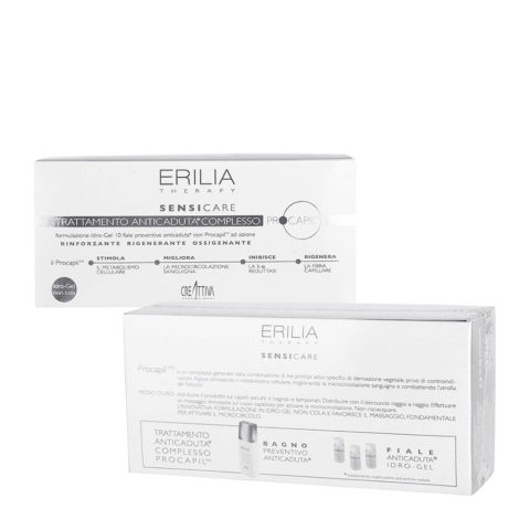 Erilia Sensicare Procapil  Anti-hairloss treatment 10x8ml - vials