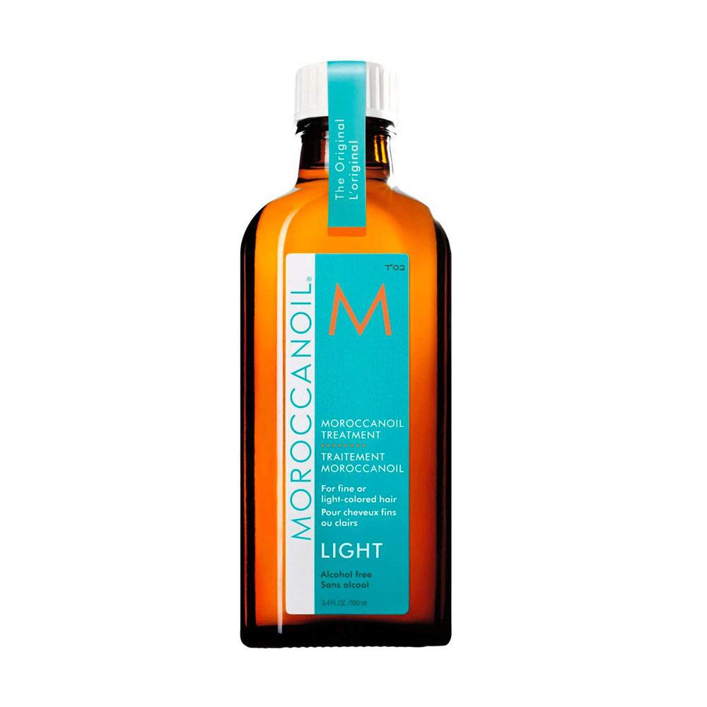 Moroccanoil Oil treatment light 100ml - for fine or light colored hair