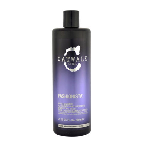 Tigi Catwalk Fashionista Violet shampoo 750ml.