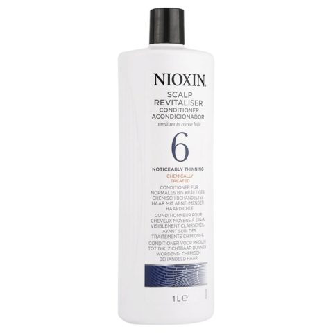 Nioxin Sistema6 Conditioner Scalp Revitaliser 1000ml