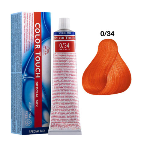 0/34 Gold Red Wella Color Touch Special mix ammonia free 60ml