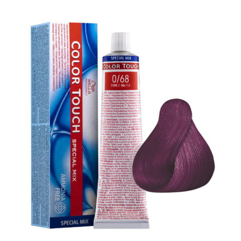 0/68 Violet Pearl Wella Color Touch ammonia free
