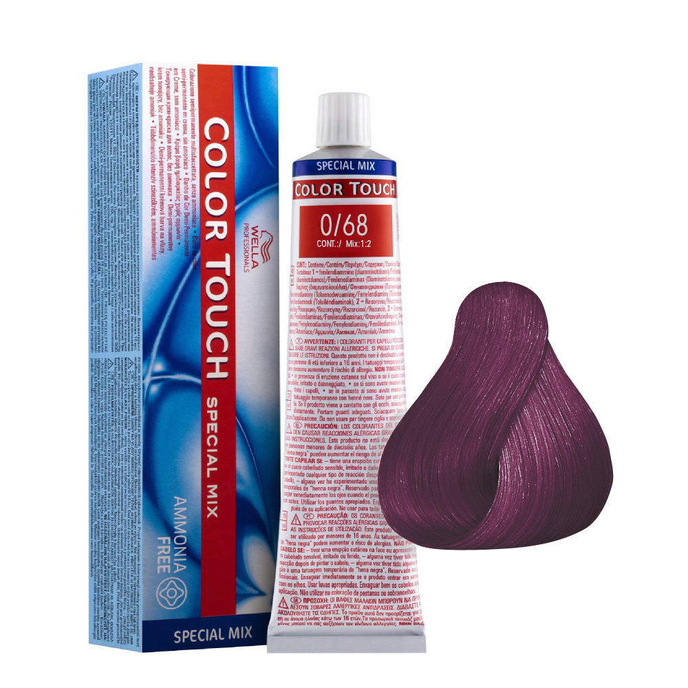 0/68 Violet Pearl Wella Color Touch Special mix ammonia free 60ml