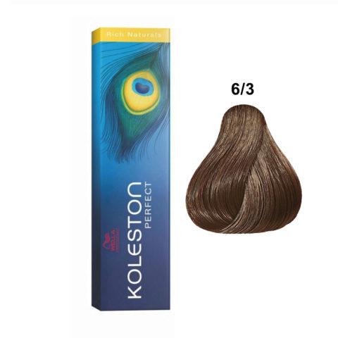 6/3 Dark gold blonde Wella Koleston Perfect Rich Naturals 60ml