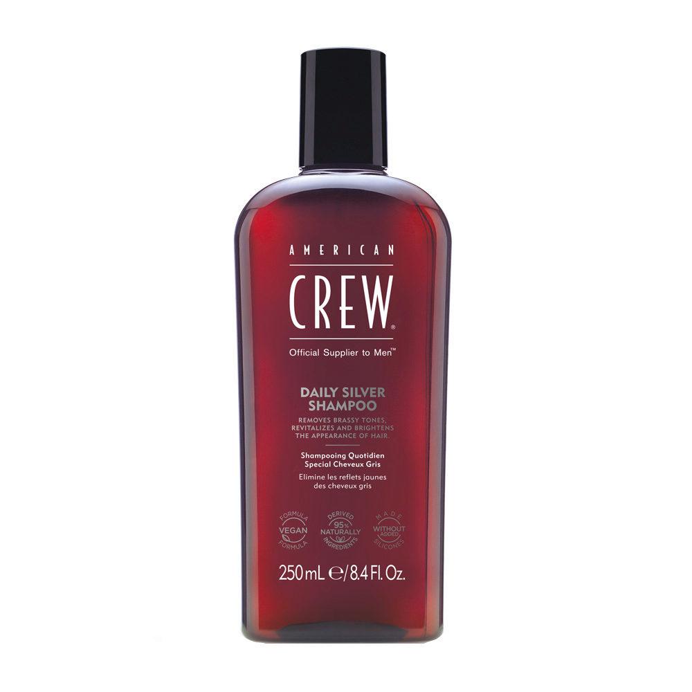 American crew Classic Grey shampoo 250ml