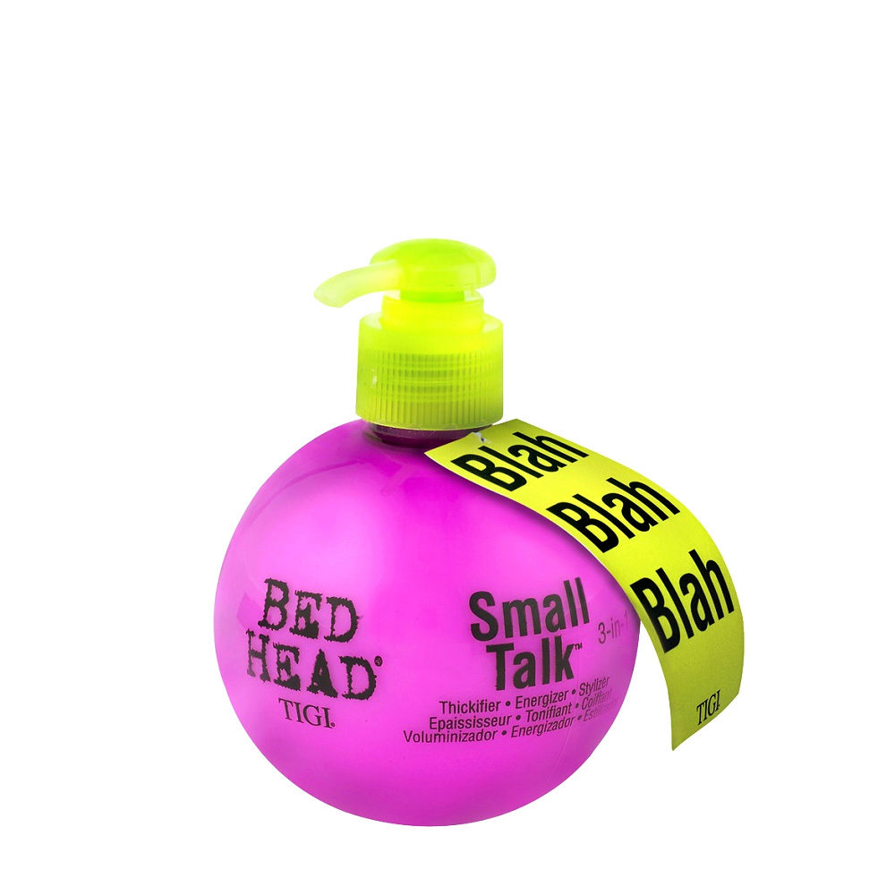 Tigi Bed Head Small Talk Blah Blah 200ml Thickening Volumizing Cream