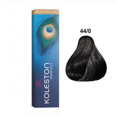 44/0 Intense medium brown Wella Koleston Perfect Pure Naturals 60ml
