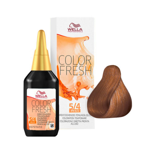 5/4 Light red brown Wella Color fresh 75ml