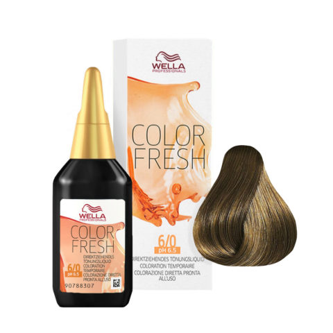 6/0 Dark blonde Wella Color fresh 75ml