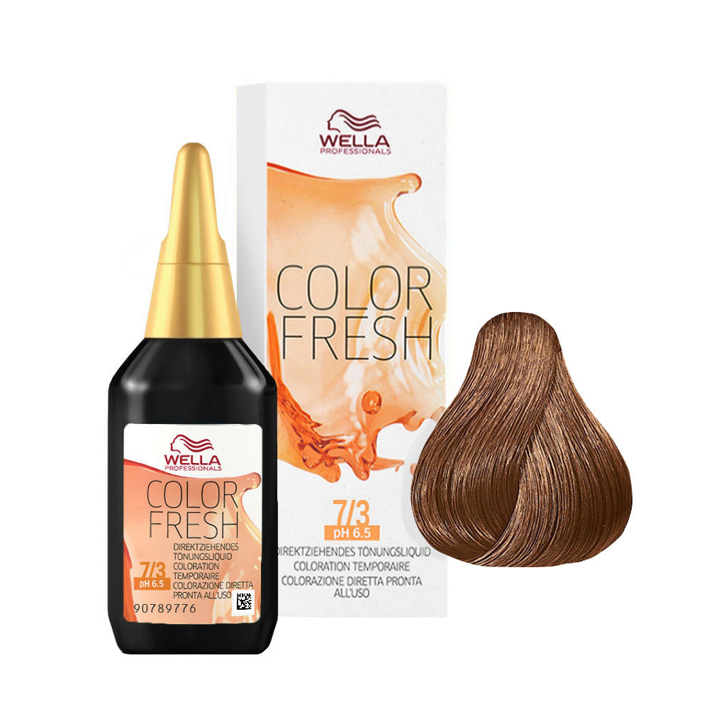 7/3 Medium gold blonde Wella Color fresh 75ml
