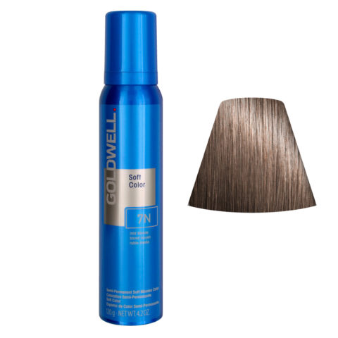 Goldwell Colorance soft color / Conditioning colorant foam 7N Mid Blonde 125ml