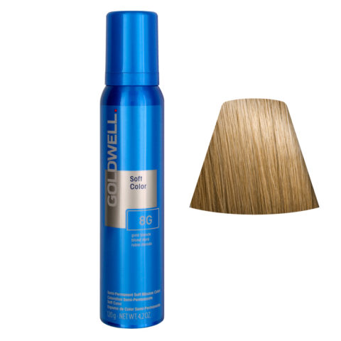Goldwell Colorance soft color / Conditioning foam colorant 8G Gold Blonde 125ml