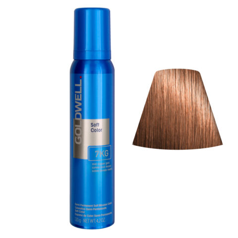Goldwell Colorance soft color / Conditioning foam colorant 7KG Mid Copper Gold 125ml