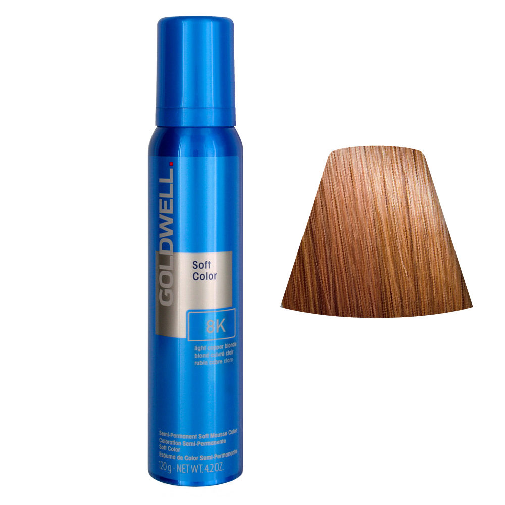 Goldwell Colorance soft color / Conditiong foam colorant 8K Light Copper Blonde 125ml