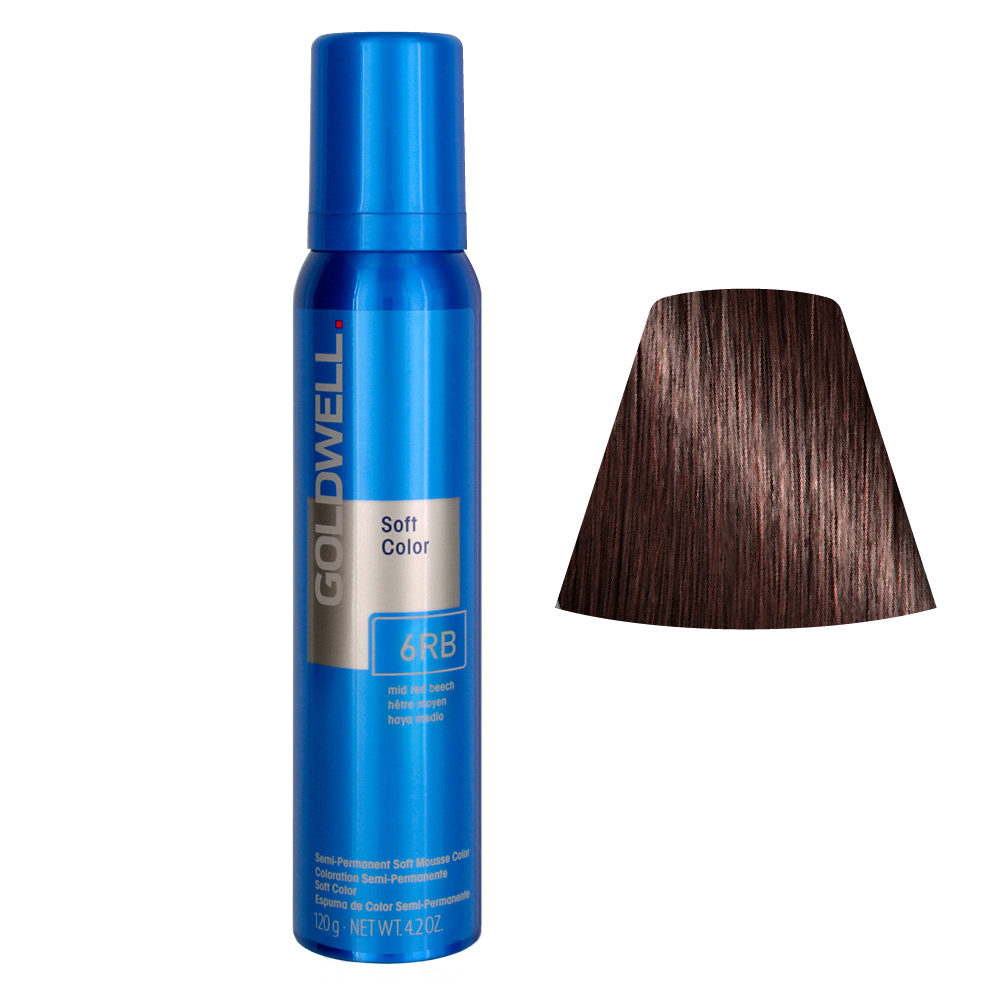 Goldwell Colorance soft color / Conditioning foam colorant 6RB Mid Red Beech 125ml