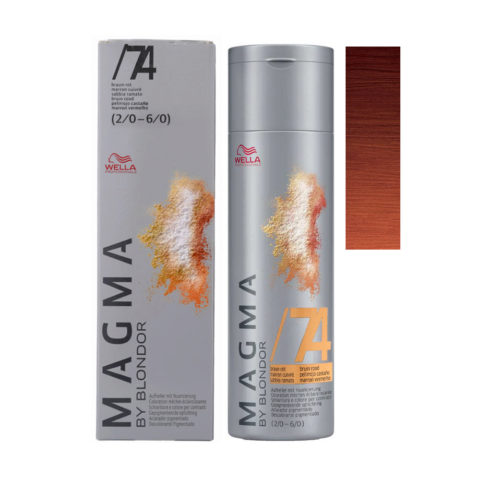 /74 Brunette Red Wella Magma 120gr