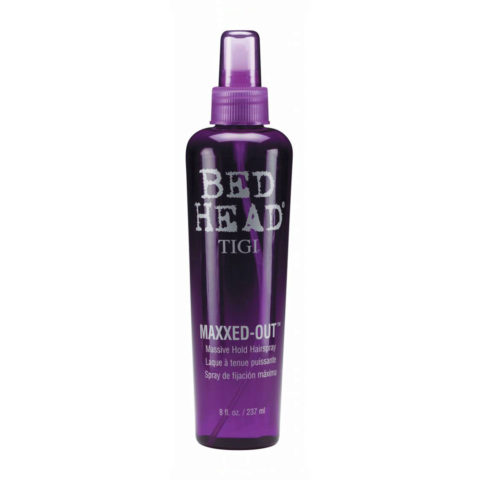 Tigi Bed Head Maxxed Out Hairspray 236ml - massive hold