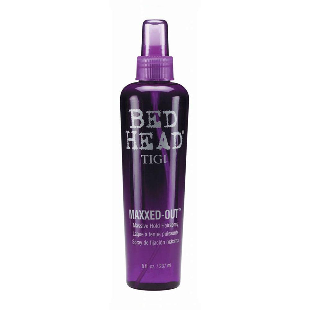Tigi Bed Head Maxxed Out Hairspray 236ml - massive hold