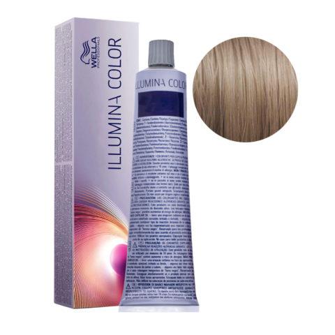 8/1 Light Ash Blonde Wella Illumina Color 60ml
