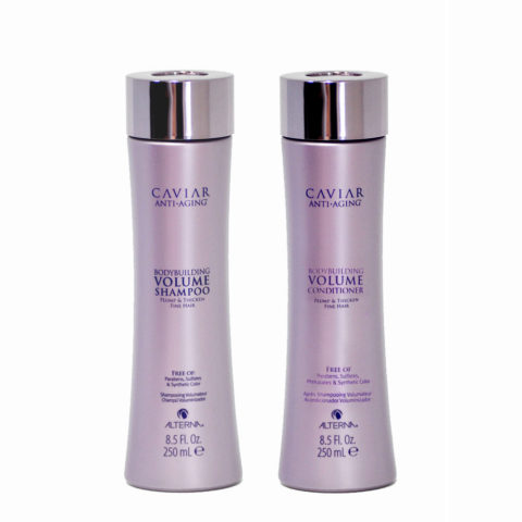 Alterna Caviar Volume Kit1 Anti Aging Shampoo 250ml Conditioner 250ml