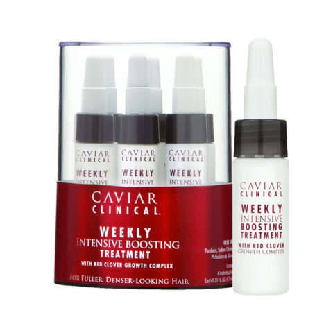 Alterna Caviar Clinical Weekly intensive boosting treatment 6x7ml - anti hairloss vials