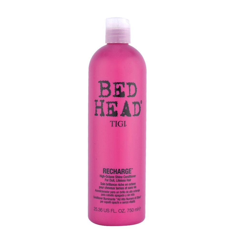 Tigi Bed Head Recharge Conditioner 750ml - high-octane shine conditioner