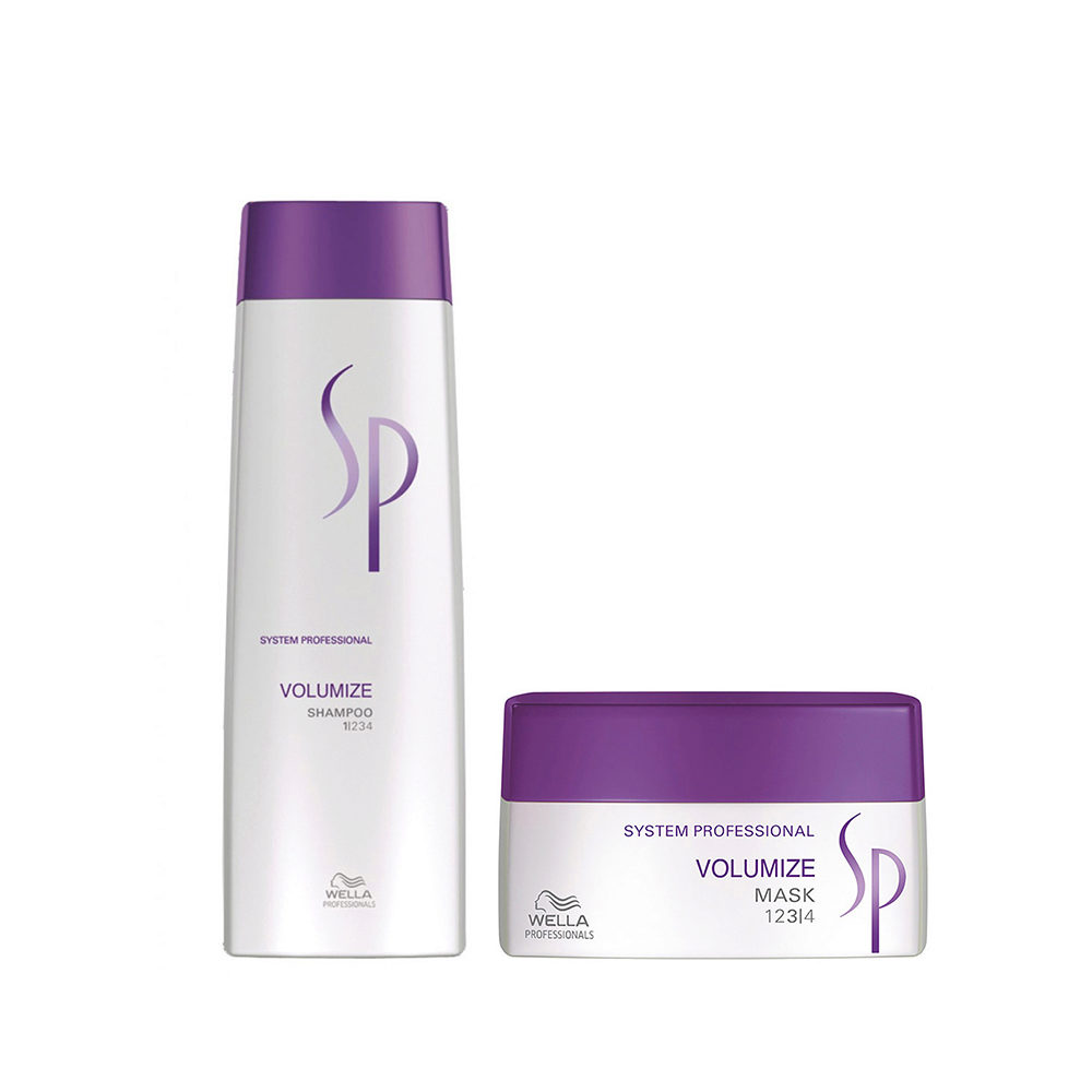 Wella SP Kit Volumize Shampoo 250 ml   Volumize Mask 200 ml