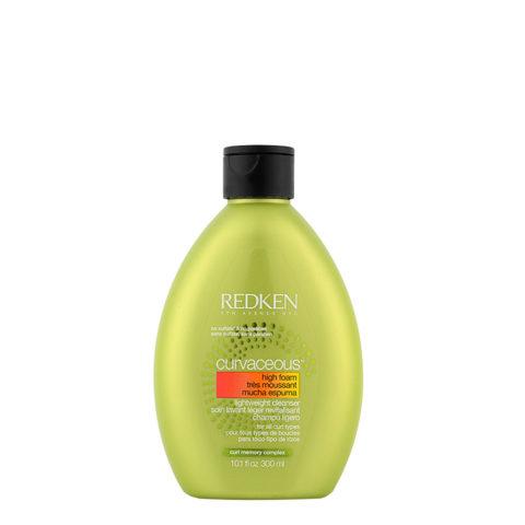 Redken Curvaceous High-foam Lightweight cleanser Shampoo 300ml